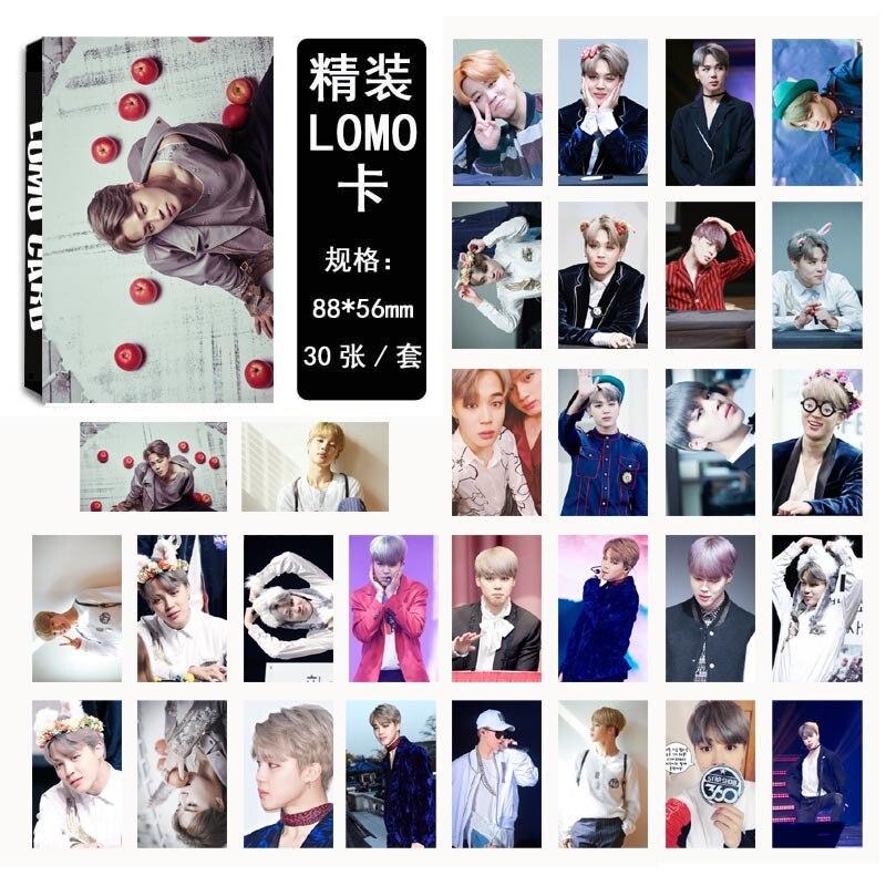 [TOOL]Pu Zhimin JIMIN single 03 sweat and tears with LOMO card set for a set of 30 #0386