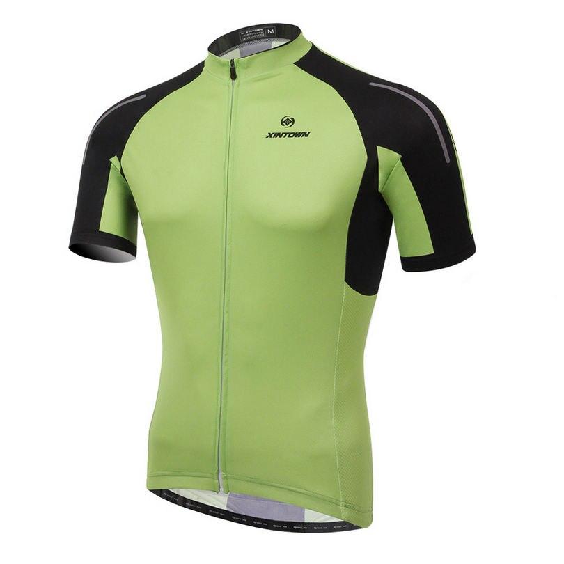 45c38a002f XINTOWN 2018 Homem Camisa de Ciclismo Manga Curta Jersey Bicicleta  Vestuário Para A Primavera Verão Outono CC0387-SJ