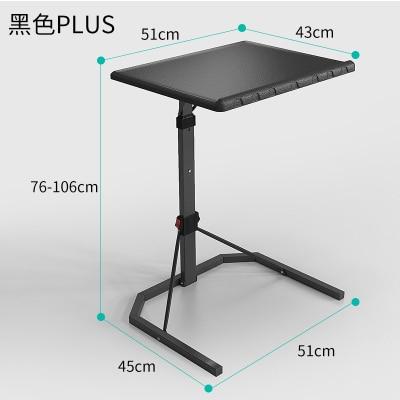 Foldable Computer Table Adjustable Portable Laptop Desk Rotate Laptop Bed Tablek 43 43CM