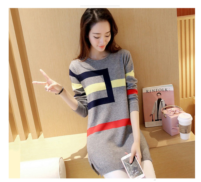 18 DRL sweater women Basic woman sweater pullovers long sleeve Jumper Long Sleeve Sweaters Autumn Winter pull femme hiver 13