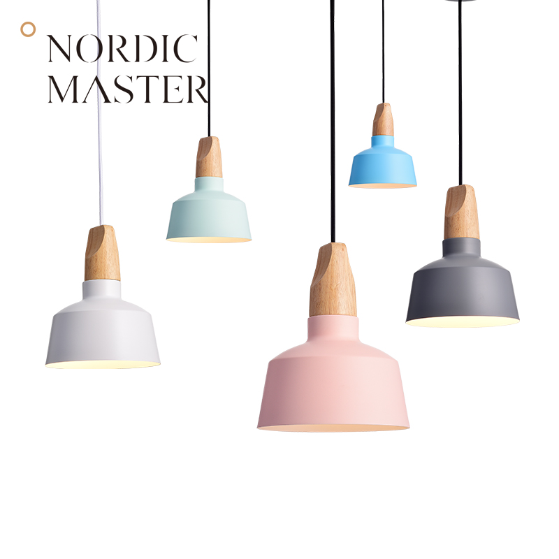 Nordic Master Colorful Pendant Lights for Dining Room Hanglamp Lamps Living Room Retro Ceiling Lamp Loft 60129S