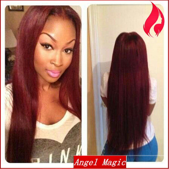 Awesome Online Buy Wholesale Red Hair Color Black Women From China Red Short Hairstyles For Black Women Fulllsitofus
