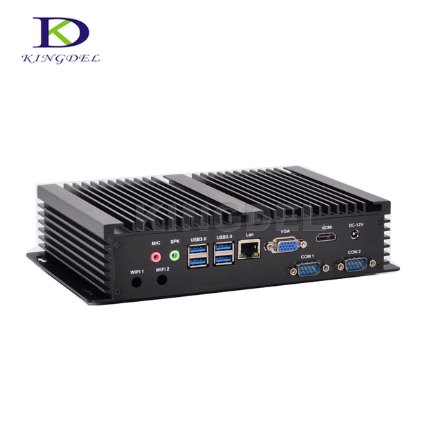 US $215 0 |3 years warranty thin client,HTPC, Core i5 4200U Dual  Core,HDMI,HD 4K,VGA,2* COM RS232,Fanless industrial desktop PC NC320-in  Mini PC from