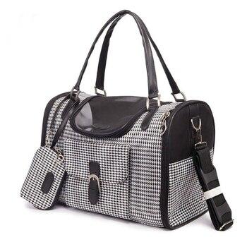 2019 Pet Package Portable PVC Pet Carrier Bag Puppy Travel Dog Shoulder Bag Pet Handbag for Small Cats Drop Shipping