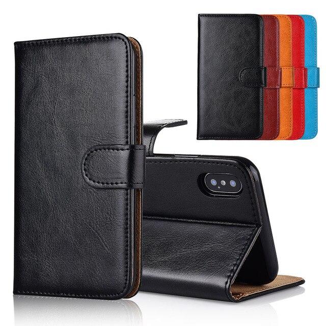 Für INOI 2 Lite Fall abdeckung Ständer flip leder Brieftasche fall Mit Karte Tasche