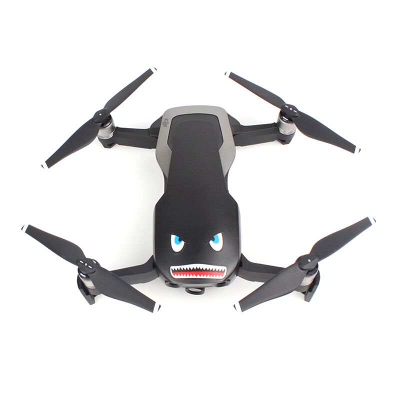 Sunnylife Mavic Air Accessories Spark Sticker Drone Body Shell Decals Skin Mavic Pro Shark Sticker Platinum Aircraft Paster  1
