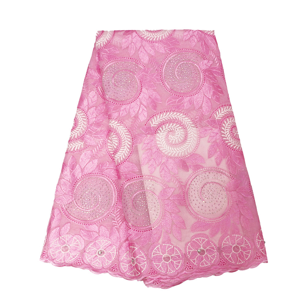 Pink African Lace Fabric 2018 Embroidered Nigerian Laces Fabric Bridal High Quality French Tulle Lace Fabric For Women HJ326-1Pink African Lace Fabric 2018 Embroidered Nigerian Laces Fabric Bridal High Quality French Tulle Lace Fabric For Women HJ326-1