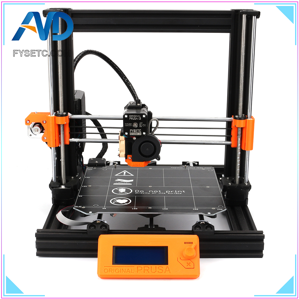 1 Complete Set DIY Clone <font><b>Prusa</b></font> <font><b>i3</b></font> <font><b>MK3</b></font> Bear Upgrade 2040 V-SLOT Aluminum Profiles <font><b>3D</b></font> <font><b>Printer</b></font> Full Kit Magnetic Heatedbed Motors image