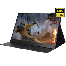 13.3 Inch 4K HDMI DP Portable Monitor 3840 * 2160 HDR IPS Screen For Game Surpport HDCP 2.2 Display PS4 Pro XBOX One PC