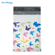 10pcs Poly Bubble Mailers 120*180mm Envelopes colorful butterflys Pattern Lined Mailer