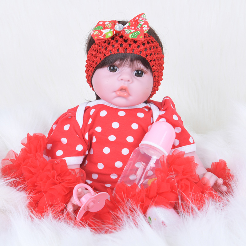 Silicone Baby Dolls Soft Baby Alive Newborn Babies Reborn Doll Boneca Realistic Doll SB5004 Bebe-reborn-menina Dolls Girls Toys