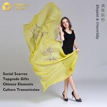 Yopota кашемир однотонного цвета роскошные шарфы в полоску оверсайз длинная шаль высококачественный шарфы первоклассный подарок