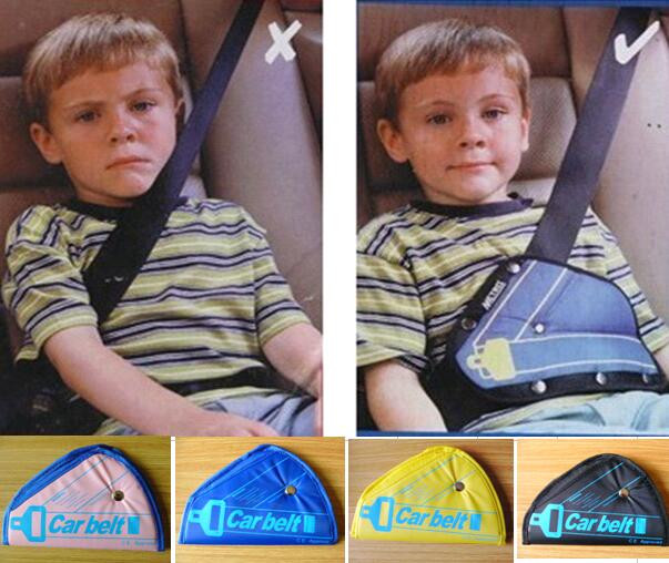 5PCE Safe fit thickening car safety belt adjust device baby child safety belt protector seat belt positioner 2-5 years