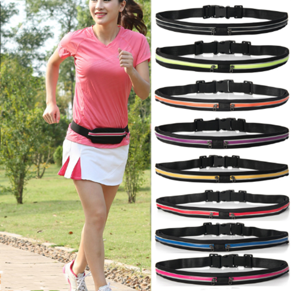 Waist Sports Fanny Pack Belly Waist Bum Bag Jogging Cycling Running Fitness Belt Bag Pouch