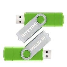2016 New RBT USB Flash Drive Real Capacity Corlor Convenient OTG 8GB 16GB 32GB Memory Usb Stick 2.0 Pen Drive Pendrive For PC