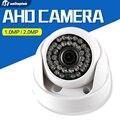 HD 720 P 1080 P Dome AHD 1MP Câmera de 2MP CMOS de Segurança Vídeo HD analógico Câmera Night Vision IR 20 M Câmera de CCTV Para 1080 P AHD DVR