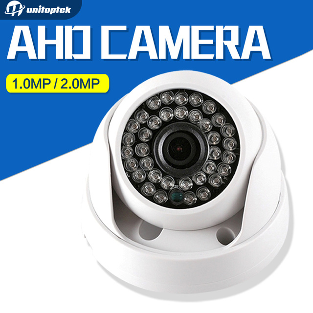 HD 720P 1080P Dome AHD Camera 1MP 2MP CMOS Security Video HD Analog Camera Night Vision IR 20M CCTV Camera For 1080P AHD DVR