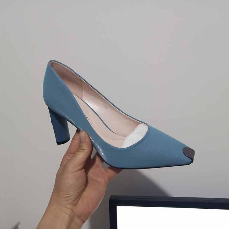 ALLBITEFO moda Taklidi sivri burun yüksek topuklu kadın ayakkabı düğün yüksek topuklu kadın ayakkabıları yüksek kaliteli ofis bayan topuklu