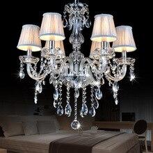 Европейский стиль свеча патрон люстра светильник Restro украшение дома светильник ing E27 столовая спальня отель блеск лампы