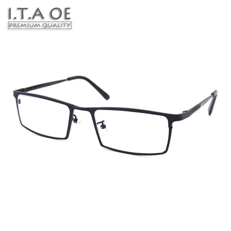 ITAOE Model 8808 Premium Quality Pure Titanium Men Optical Prescription Glasses Eyewear Frames Spectacles 144mm itaoe model 404 high quality acetate men optical prescription glasses eyewear frames spectacles 141mm