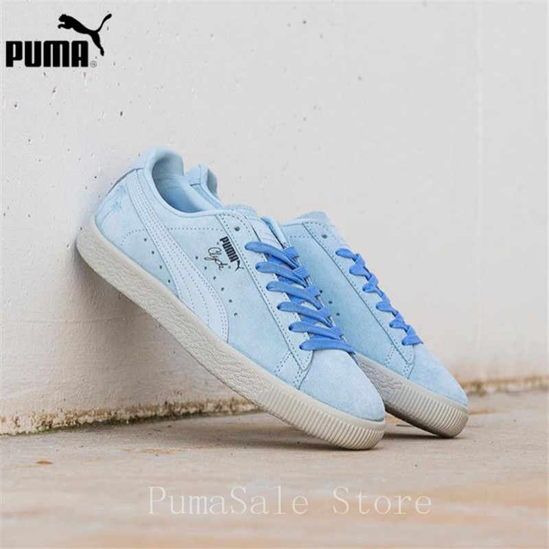 bcd6c229910 ... PUMA Clyde Venice Men And Women Shoes 366611-01 Low Top Outdoor Sport  Badminton Shoes ...