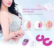 Electric Breast Enlargement Massage Tens Women Chest Augmentation Lifting Vibrating Massager Enhancer Nipple Masajeador