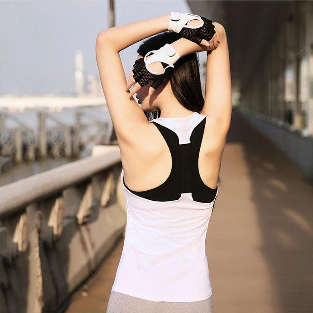 ★  7 Цветов Yoga Top Жилет Без Рукавов Спортивная Рубашка Женщины Бег Тренажерный Зал Майка Голый Назад ①