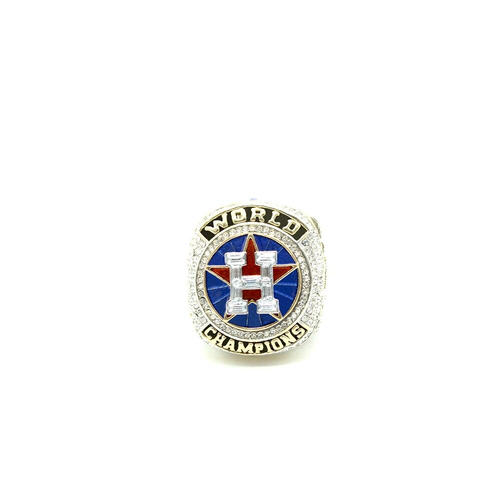 Disegno ufficiale 2017 2018 houston astros anello anelli di campionato replica
