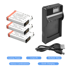 3X 3.7V 1550mAh Li-ion SLB-11A Battery+Battery charger with LED ForSamsung WB1000 WB5000 CL65 CL80 HZ25W ST1000 ST5000 ST550 L20
