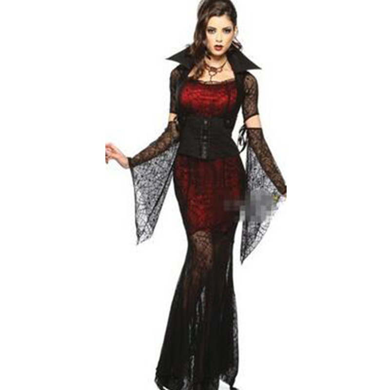 Sexy Halloween Sexy Cosplay Ghost Bride Costumes Vampire Disfraz Spider  Costume Sexy Temptation Uniform Game Clothing Hot CE341,in Sexy Costumes  from