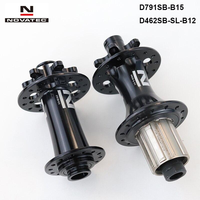 NOVATEC Disc D791SB//D792SB 4in1 Disc bike hub Q//R// thru axle shimano//sram xd MTB