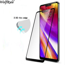 2pcs Screen Protector Film For LG G7 Glass 2.5D Tempered Full Coverage 2018 G710 Phone