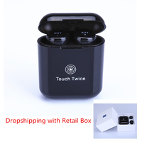 2018 TWS X3T Wireless Bluetooth 4 2 Headset Earphone Wtih Charger Box Bass X1t X2T Upgraded