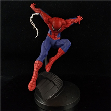 12CM anime comic figure the avenger spiderman action figure collectible model toys for boys