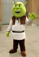 New Shrek Mascot Costume Adult For Halloween! Free shipping