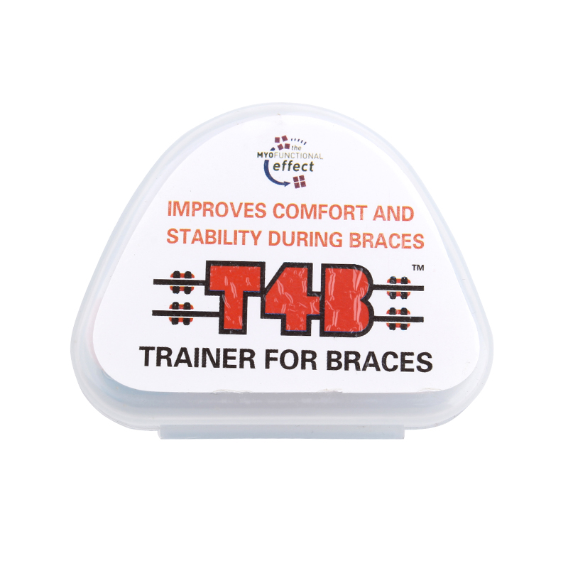 1Pc T4B Teeth Orthodontic Trainer Dental Braces Mouthpieces Appliance Simple Practical Dental Braces For Adults Free Shipping