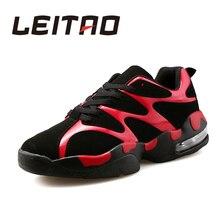 LEITAO Par Zapatos Para Correr de Amortiguación Transpirable de Encaje Hasta Zapatos de Los Amantes Del Deporte Luz Suave de Los Hombres y de Las Mujeres Zapatilla de deporte de Gimnasio de Alta Calidad zapatos