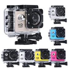 T2 Waterproof Bicycle Snorkeling Surfing Helmet Sports Recorder Car DV Action Camera Camcorder 1080P HD 30 Meters Under Water