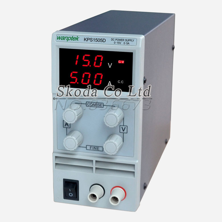 Wholesale KPS1505D 15V 5A digital adjustable Mini DC Power Supply Switch DC power supply 110/220V 0.1V 0.01A cps 6011 60v 11a digital adjustable dc power supply laboratory power supply cps6011