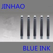 JINHAO 30 шт. картридж с синими чернилами для заправки авторучка гарантия бренда универсальный тип другие бренды также подходят