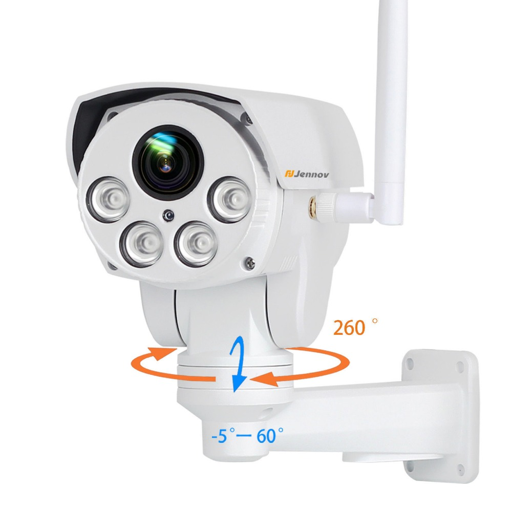 1080P 2MP PTZ IP Camera Wireless Wifi 4X Zoom CCTV IR Night Vision Outdoor Security ipCam Audio Video Surveillance Nanny Camara lintratek wireless ip bullet security camera 960p 4x optical zoom surveillance wifi cctv camera ip65 waterproof outdoor camara