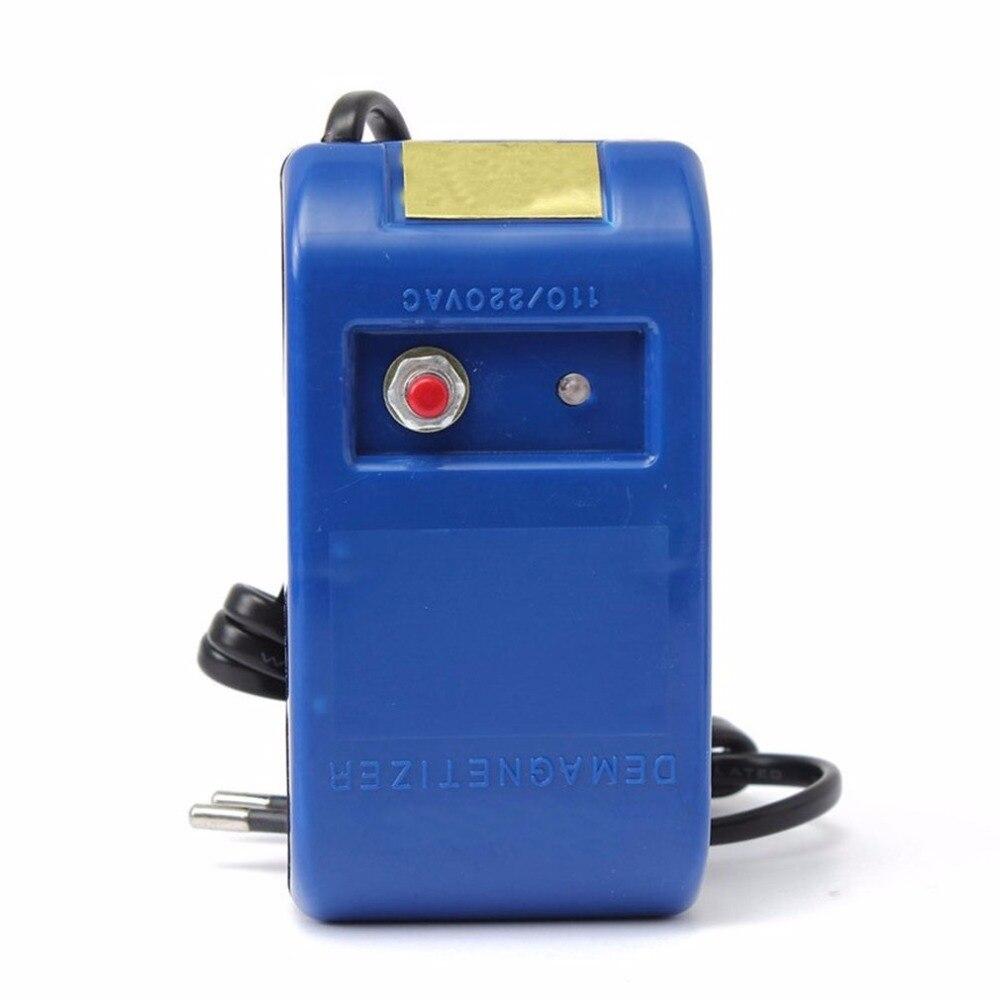 EU PLUG Demagnetizer For Watch Repair Tools Screwdriver Tweezers Electrical Demagnetise Demagnetizer Tools