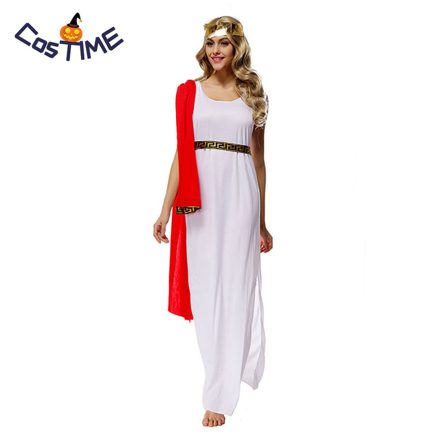 new arrival 9b9b0 5d701 Greca Costume Lungo Elegante Abito Queen Vestito Dio Dea ...