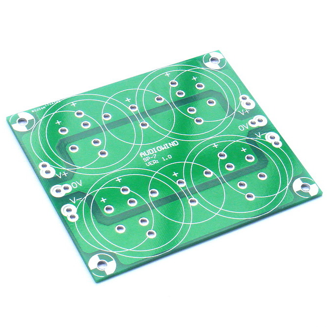 Capacitor Filter PCB, for Upgrade Audio Power Amplifier.Capacitor Filter PCB, for Upgrade Audio Power Amplifier.