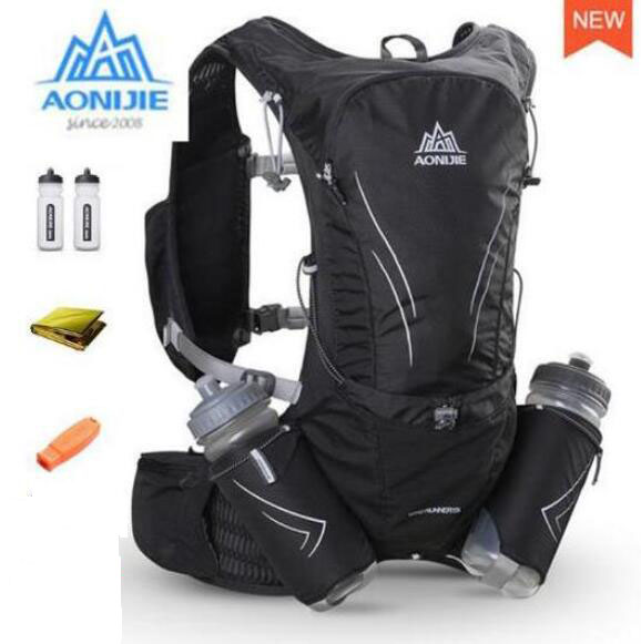 AONIJIE 15L Running Lightweight Hydration Backpack Rucksack Bag for Hiking Camping Marathon Race Sports