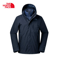 The North Face Men Goose Hiking Down Waterproof Warm Outdoor Sports Three in one Comfortable Breathable Trekking Coats 365B