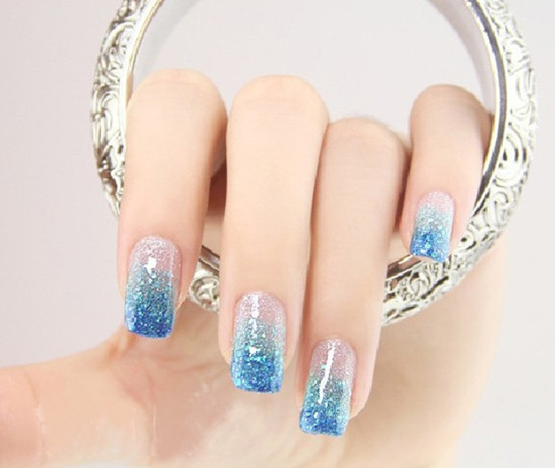 Nail art glitter dust powder pack of 12 pcs different color ebay nail art glitter dust powder prinsesfo Images