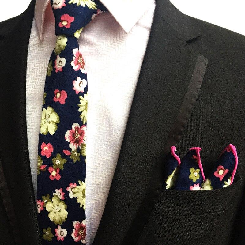 Erkekler için yeni erkek moda bağları kravat seti takım cep kare - Elbise aksesuarları - Fotoğraf 1