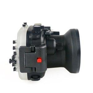 Image 4 - 130FT/40 متر لكانون PowerShot G1 X مارك II تحت الماء عمق الغوص الحال بالنسبة لكانون G1X II كاميرا مقاومة للماء الإسكان غطاء صندوق