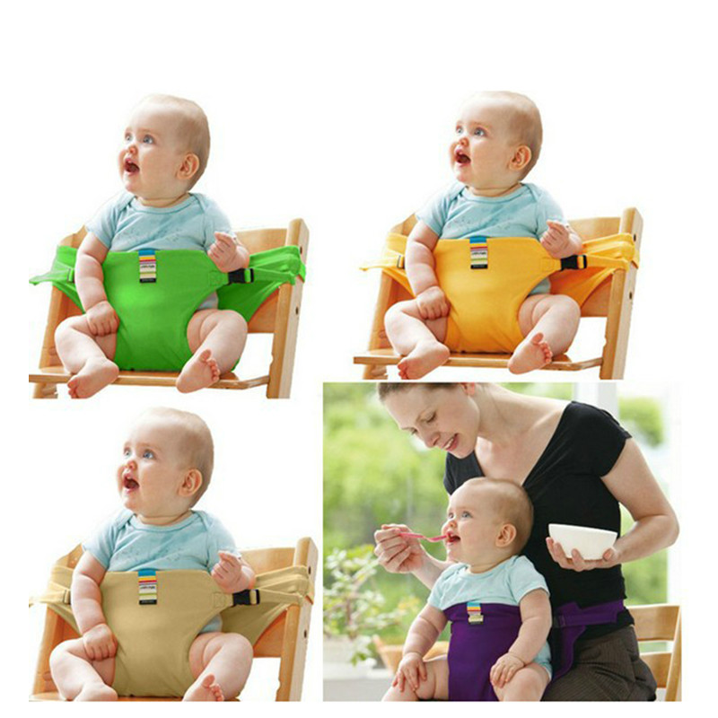 цена на Infant Chair Portable Seat Dining Lunch Chair Seat Safety Belt Stretch Wrap Feeding Chair Harness baby Booster Seat baby feeding